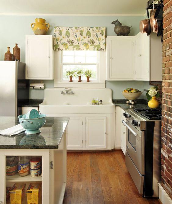 Small kitchen ideas.