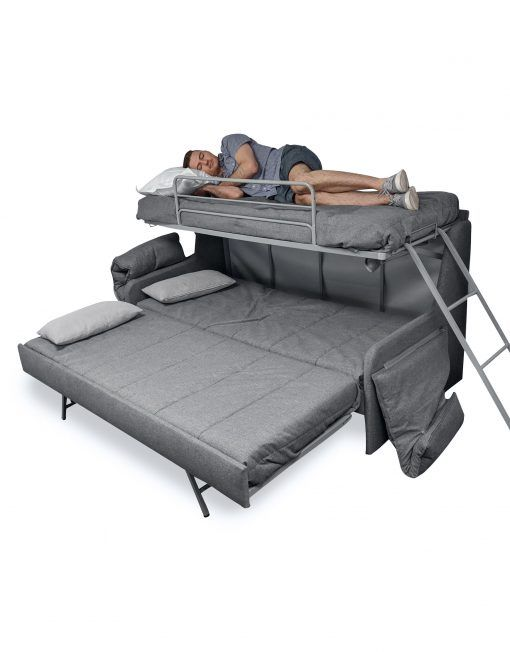 Transforming Sofa Bunk Bed Expand Furniture Small Spaces Bunk