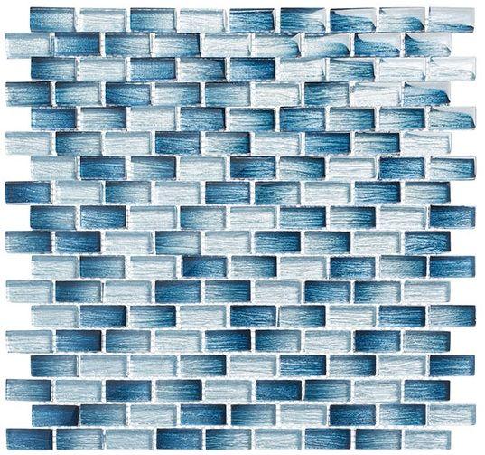 Glass Tile Mosaic Metro Series Antoinette Blue Blue Mosaic Tile Blue Mosaic Mosaic Tiles