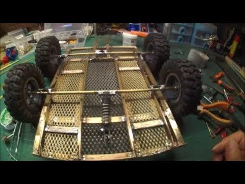 Build Trailer Double Axle For Jeep Willys 1 6 Scale To Carry Atv Kawasa Willys Jeep Willys Atv