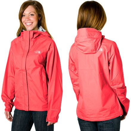 Northface rain jacket, a necessity if i might add. On sale for $64