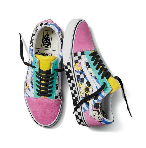 vans mickey femme chaussure