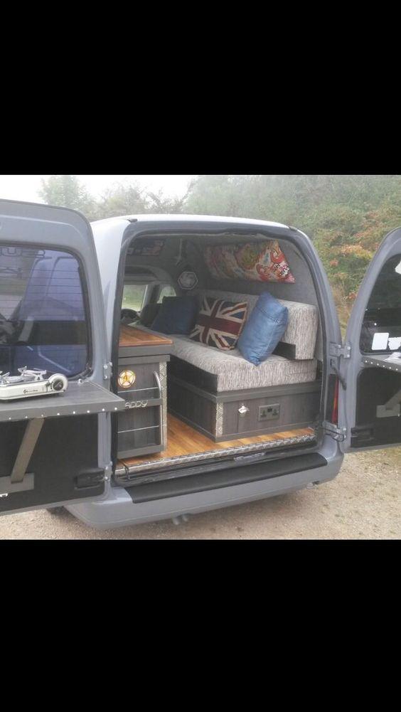Interior ideas noel and thanks on pinterest for Vw camper van interior designs
