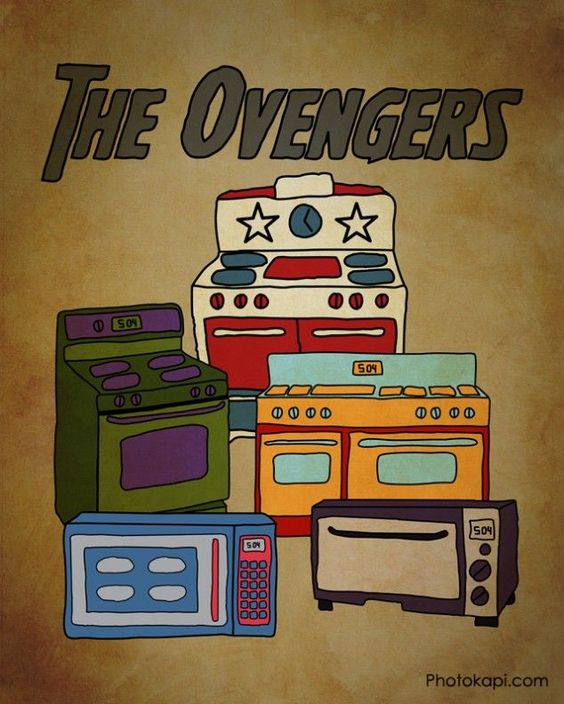 The Ovengers -- coming soon to an appliance store near you