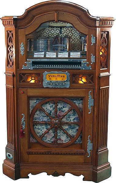 Wurlitzer Model 780-E ''Wagon Wheel'' Jukebox w/Keys - Pick Up Only -P-