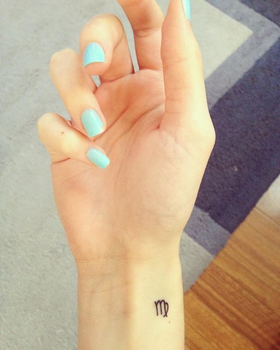 21 Chic Virgo Tattoos That Ll Satisfy Your Inner Perfectionist I Am Co In 2020 Virgo Tattoo Designs Virgo Tattoo Small Tattoos