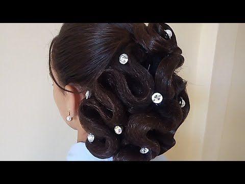 تسريحة للمناسبات بإستخدام الشبكة سهلة Youtube Wedding Styles Ear Cuff Wedding