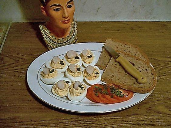 Amateurkochfotos - Russische Eier