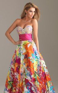Perfect for a spring wedding reception or formal party in warm weather
