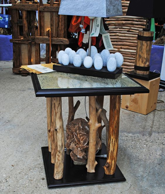 tavolo #rosadeldeserto #fibraficoindia #arredamento #ecologico ... - Idee Arredamento Ecologico