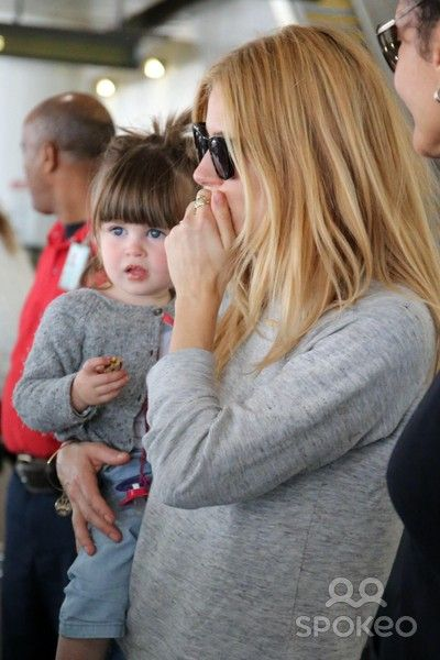 Sienna Miller and her daughter, Marlowe Ottoline Layng ...