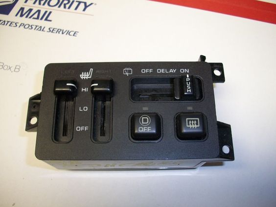 1996 2000 jeep grand cherokee rear wiper switch w heated for 2000 jeep cherokee window switch