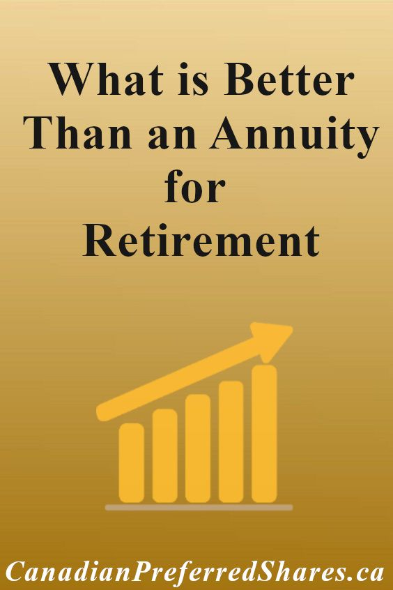 What Is Better Than An Annuity For Retirement In 2020 Annuity