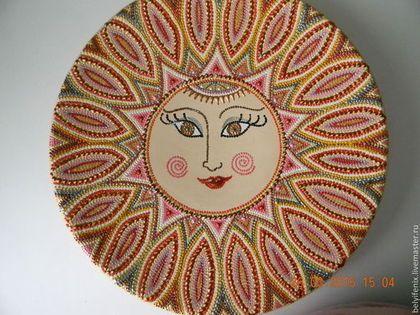 Декоративная посуда ручной работы. Ярмарка Мастеров - ручная работа. Купить Жаркое солнце. Handmade. Разноцветный, восточный стиль