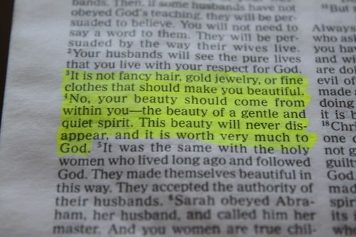 1 Peter 3:3 BEAUTY