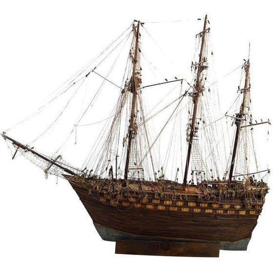 Home decor ship model