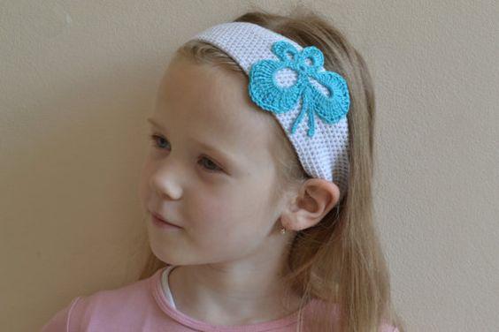 Headband Crochet Headband Accessory Fashion Headband by OmiOlga