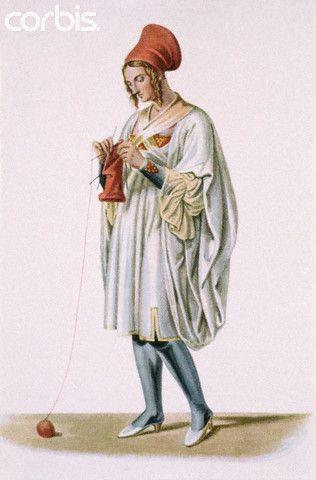 19th Century Drawing of Greek Woman