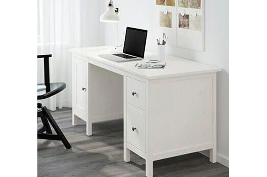 Schreibtisch Weiß Hochglanz Ikea