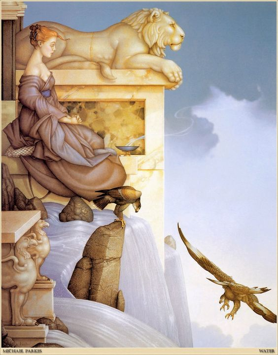 Michael Parkes - Water Painting