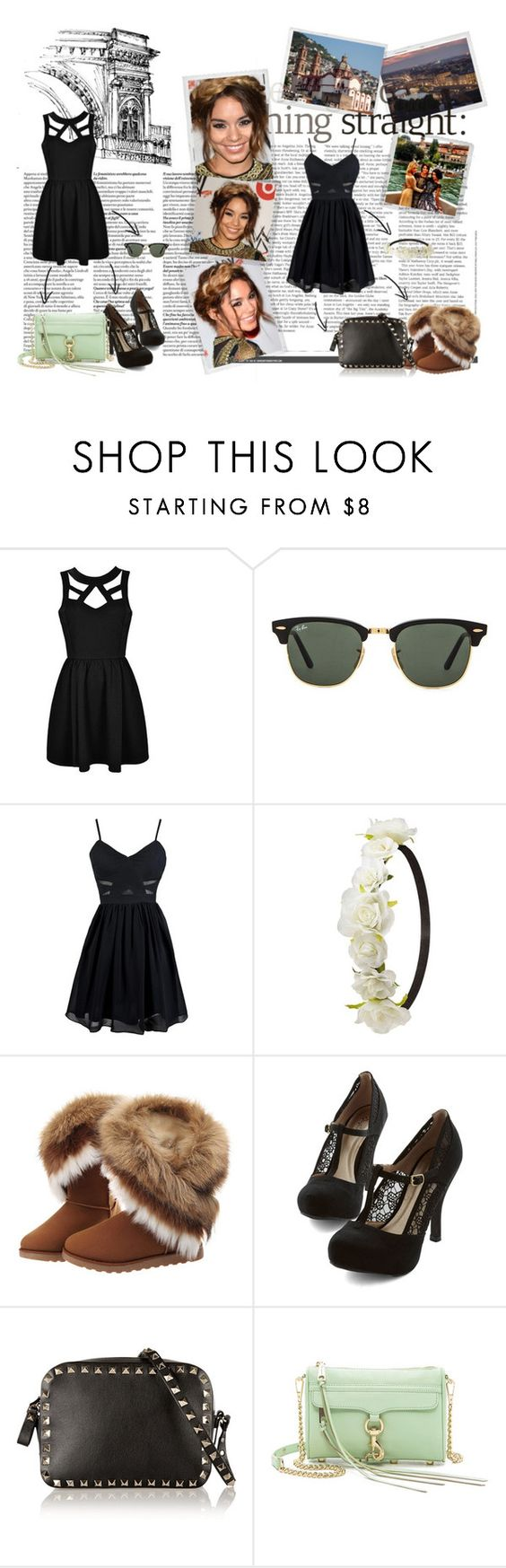 """""""Molto leggiadro"""" by livetarvackert ❤ liked on Polyvore featuring Polaroid, Ally Fashion, Ray-Ban, Charlotte Russe, Valentino and Rebecca Minkoff"""