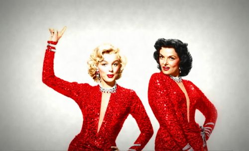 Marilyn and Jane, from Gentlemen Prefer Blondes