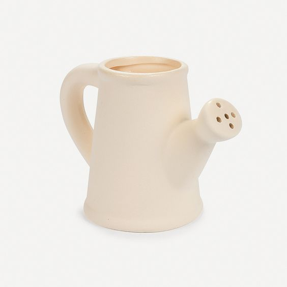 Also for an April Showers theme~  Design Your Own Ceramic Watering Can Planters - OrientalTrading.com