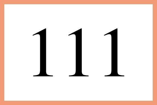 111のエンジェルナンバーの意味とは エンジェル ナンバー スピリチュアル 江原 エンジェル
