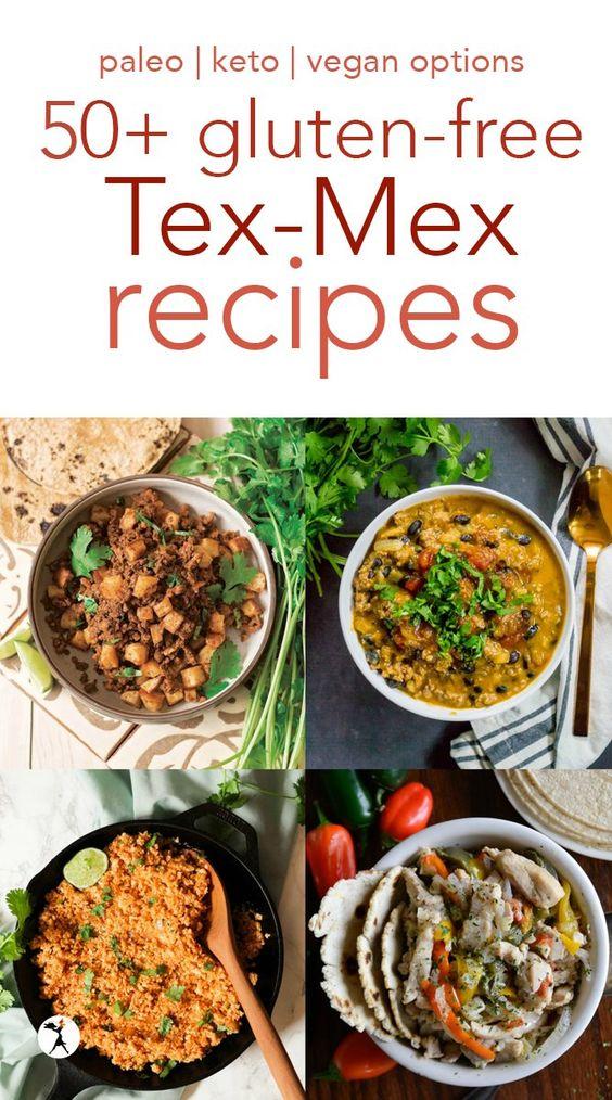 50+ Gluten-Free Tex-Mex Recipes :: keto, paleo, vegan too!