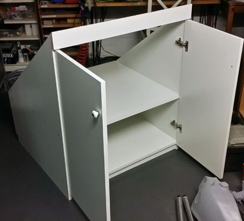 Selbstgebauter Einbauschrank Einbauschrank Schrank Dachschrage Dachschragenschrank