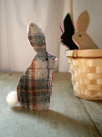 lil fish studios: Bunny Finger Puppets