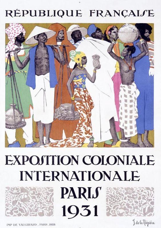 Paris exposition coloniale internationale de 1931 paris for Idee portico coloniale
