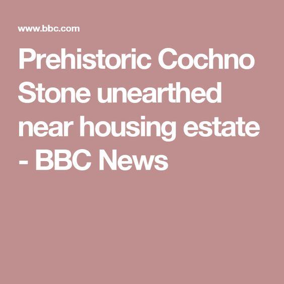 Prehistoric Cochno Stone unearthed near housing estate - BBC News