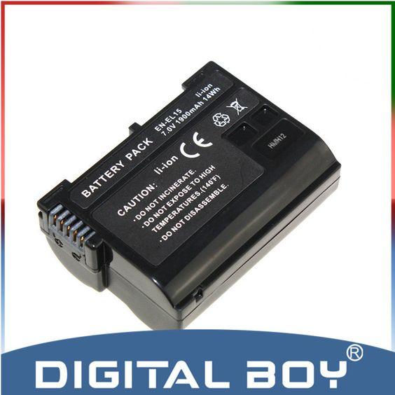 $17.78 (Buy here: https://alitems.com/g/1e8d114494ebda23ff8b16525dc3e8/?i=5&ulp=https%3A%2F%2Fwww.aliexpress.com%2Fitem%2FDigital-Boy-1-pcs-EN-EL15-EN-EL15-Camera-rechargeable-li-ion-Battery-For-Nikon-D7000%2F32316572049.html ) Digital Boy 1 pcs EN-EL15 EN EL15 Camera rechargeable li-ion Battery For Nikon D7000 1V1 D800 D800E D600 z1 for just $17.78