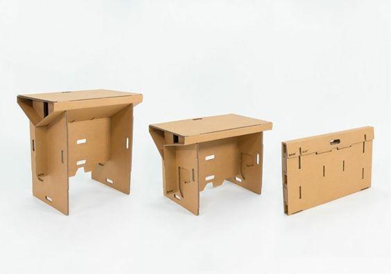 Stunning au ergew hnliche m bel tisch sitz refold M bel M beldesign Pinterest Cardboard boxes and Box