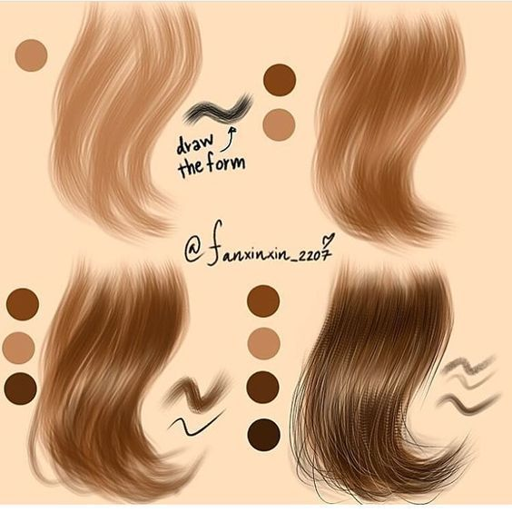 How To Draw Digital Painting In 2020 Digital Painting How To Draw Hair Digital Art Beginner