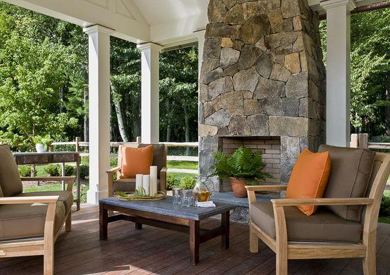 Pool Pavillion; Outdoor living room - Crisp Architects