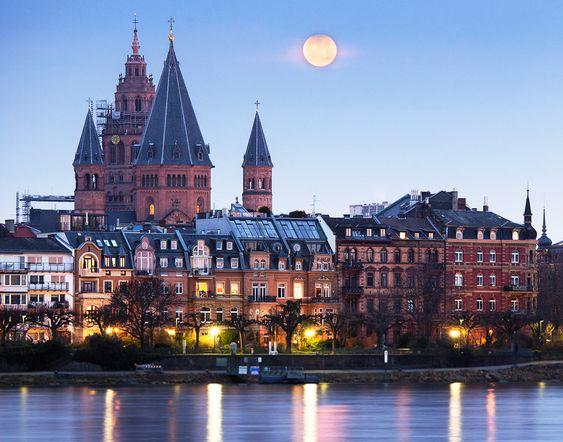 Blick auf das historische #Mainz