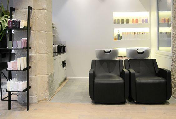 Salon de coiffure zazen paris deco salon de coiffure for Salon miroir paris 14