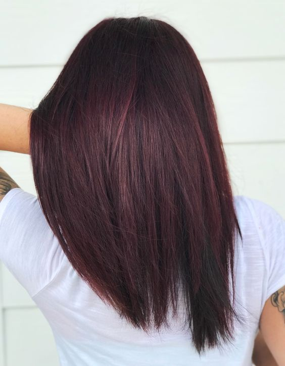 Cherry Cola Red Violet Hair Matrix So Color Hair Color Burgundy Skin Tone Hair Color Dark Red Hair Color