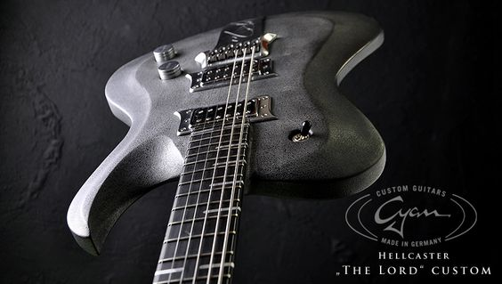 Cyan Guitars Hellicaster The Lord Custom
