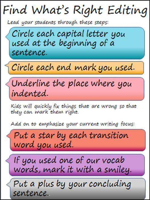 Pin On Writing Revising and editing worksheets