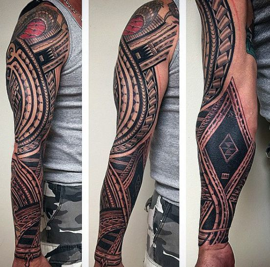 Full Sleeve Male Samoan Tattoo Ideas Samoantattoossleeves Samoantattoosmale Full Sleeve Tattoos Samoan Tattoo Half Sleeve Tattoo