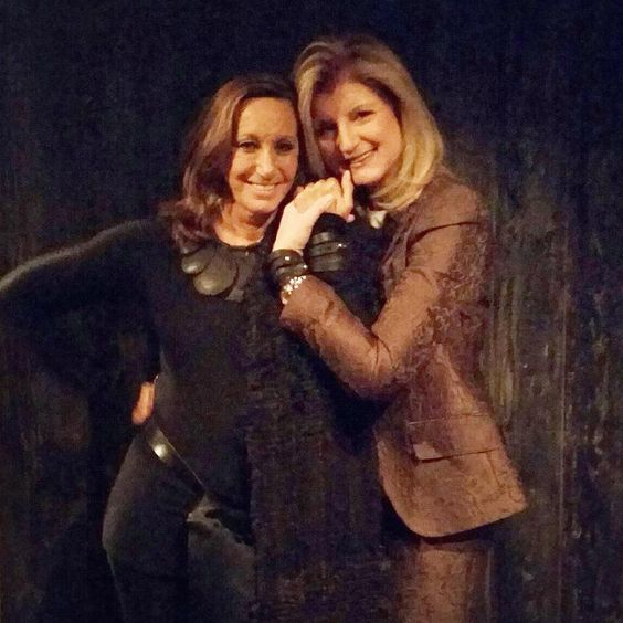 W/ Donna Karan wearing @dkny #notonemore bracelets, raising awareness to end gun violence, at an event for @Everytown