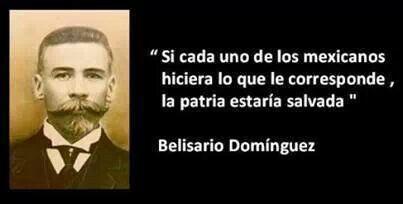 Belisario Domínguez.
