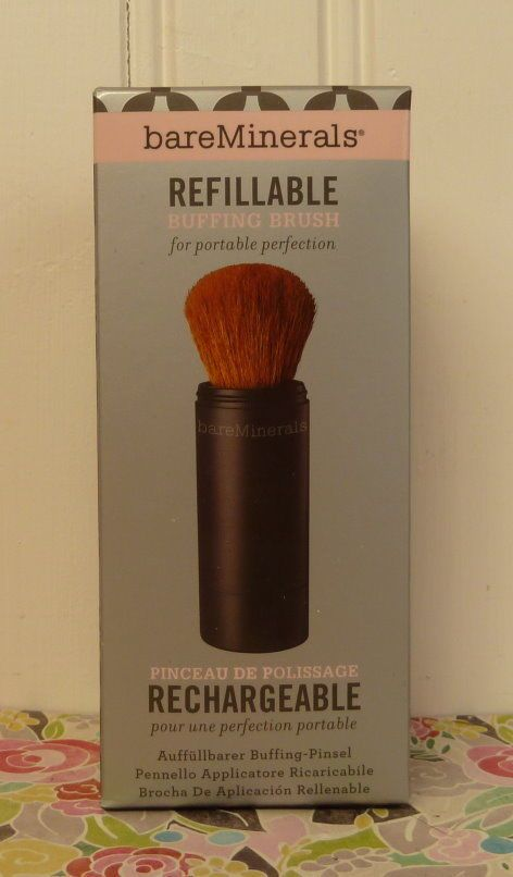 Up for sale ~ NEW IN BOX BARE MINERALS REFILLABLE BUFFING BRUSH. Includes…