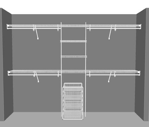Closetmaid - Wire Shelving & Wardrobe Solutions. Declutter