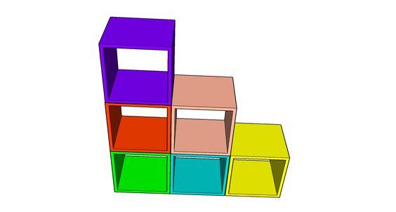 Diseño Juguetero, librero