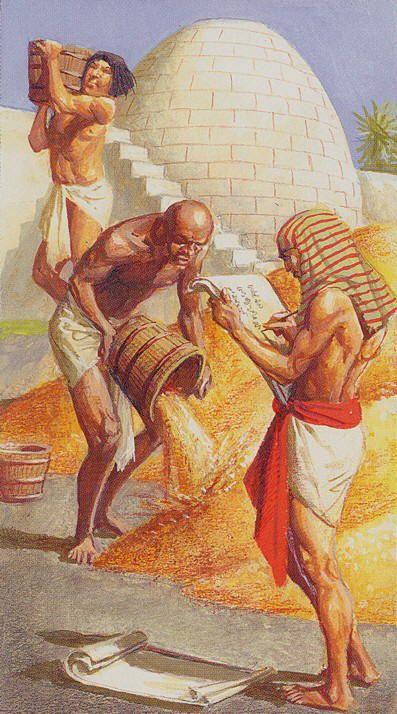 3 d'écus - Ramsès : Tarot de l'éternité par Severino Baraldi