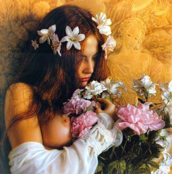 Candace (Flower Child) by Douglas Hoffman